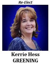 Kerrie Hess Greening 2021