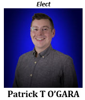 Patrick T O'Gara 2021